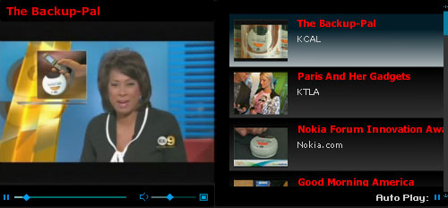 Cellular Phone Data Backup and Transfer Kit seen on TV KCAL with Rich DeMuro, Paris Hilton KTLA, Nokia Forum, ABC Good Morning America, FOX News, EXPO TV CES, OC Register